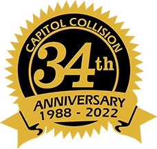 Capitol Collision Repair, years of service!
