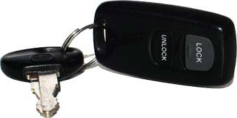 rental car keys