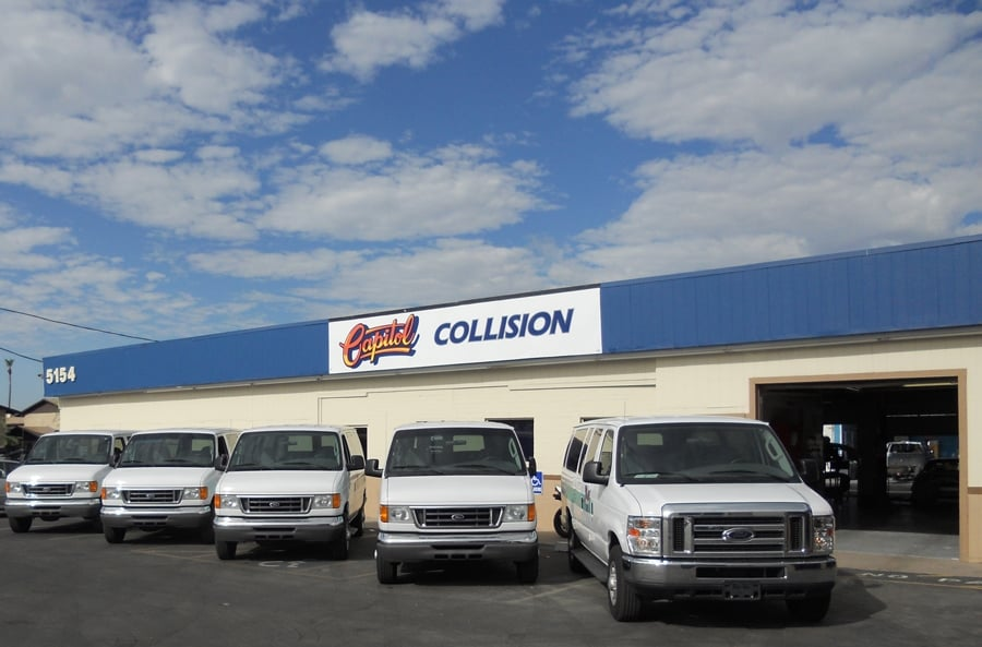 fleet repair body shop, Phoenix