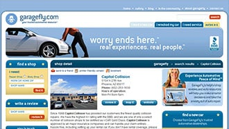 Garagefly Collision Repair Shop, Customer Testimonials