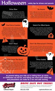 Halloween Safety Tips for Parents Infographic