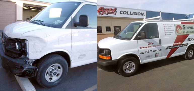 chevy-body-repair-at-capitol-collision-repair